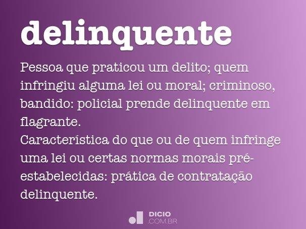 delinquente