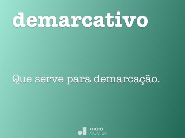 demarcativo