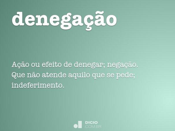 denega��o