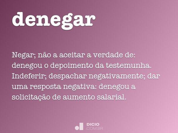 denegar