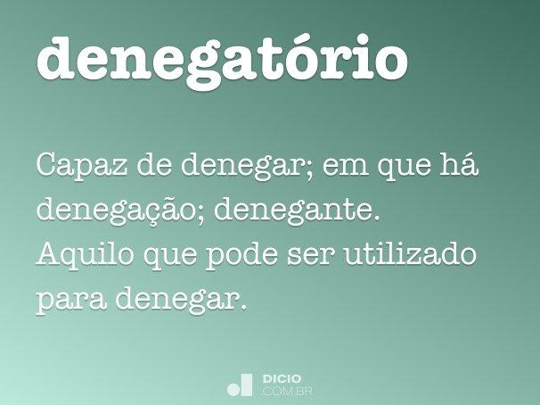 denegatório