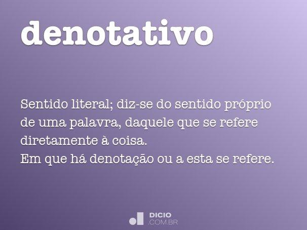 denotativo