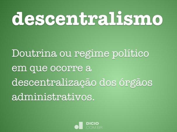 descentralismo