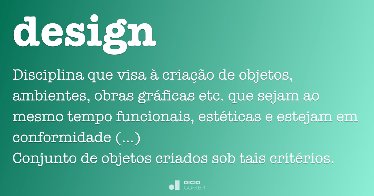 Design Dicio Dicionário Online De Português