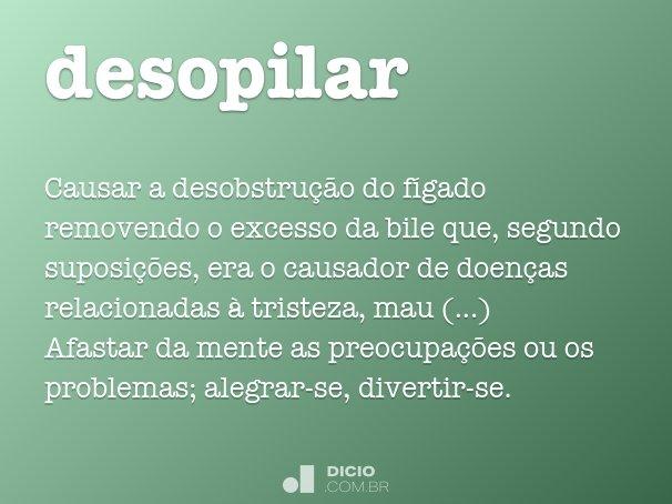 desopilar