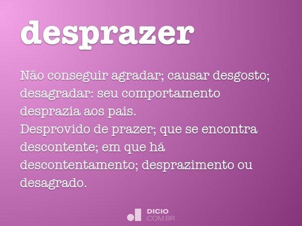 desprazer