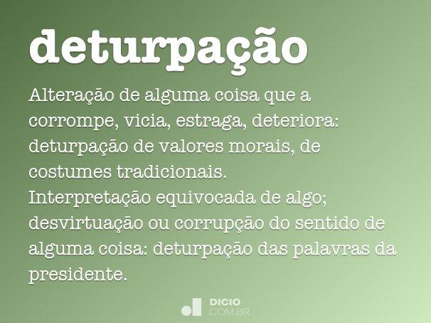 deturpa��o
