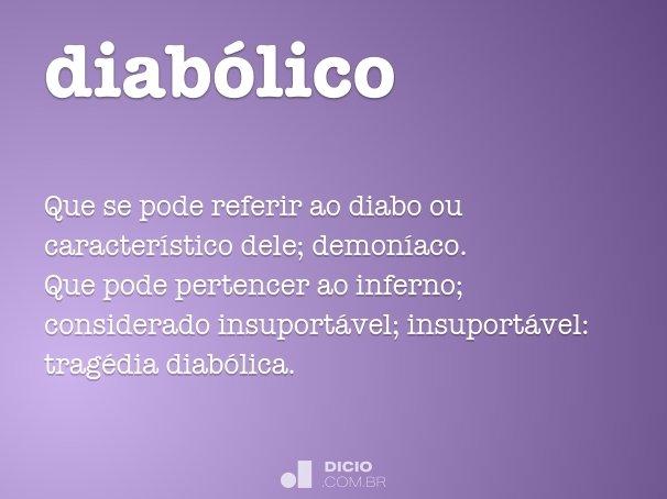 diabólico