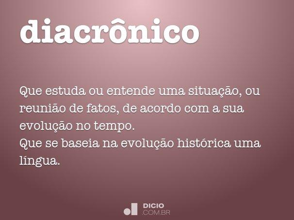 diacrônico