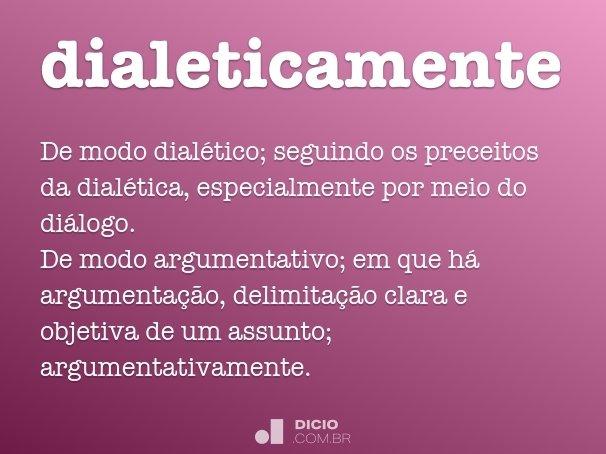 dialeticamente