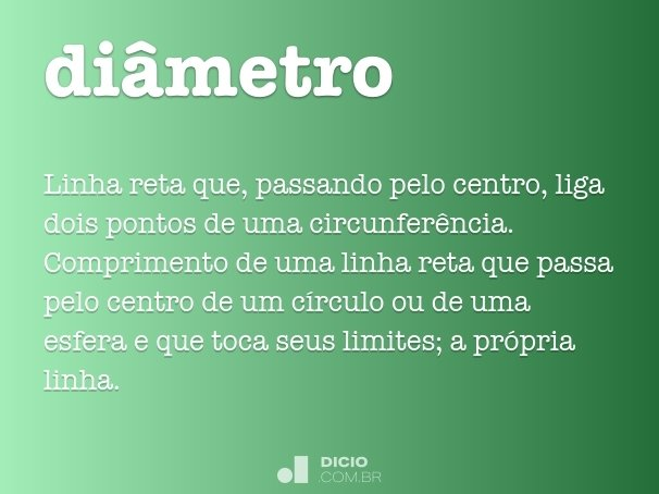 di�metro