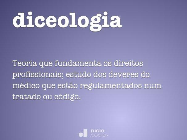 diceologia