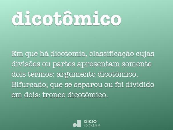 dicot�mico