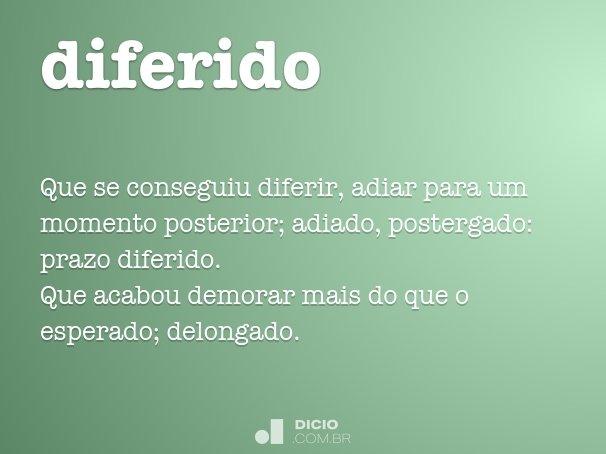 diferido