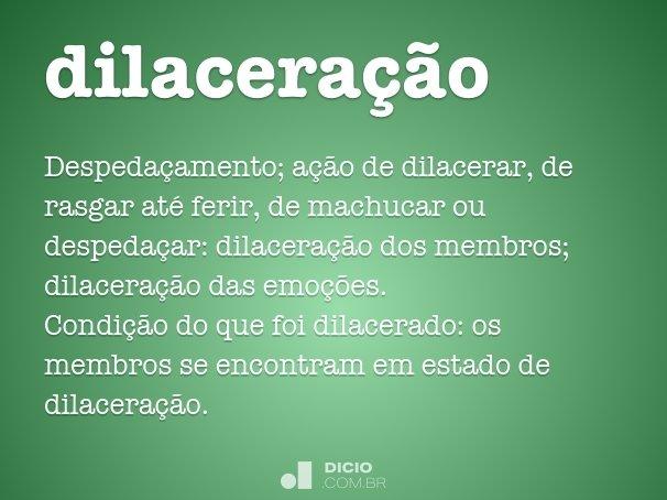 dilaceração
