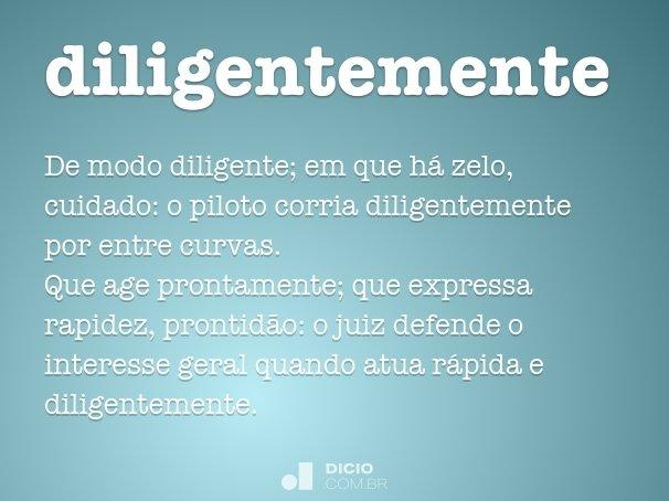 diligentemente