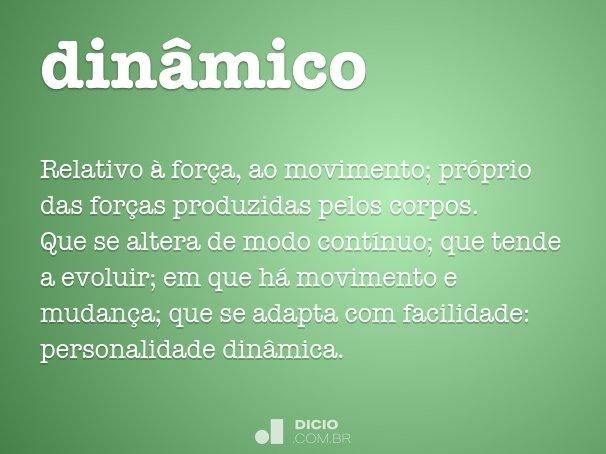 din�mico