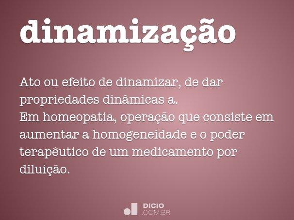 dinamiza��o