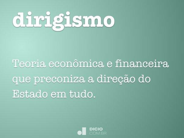 dirigismo