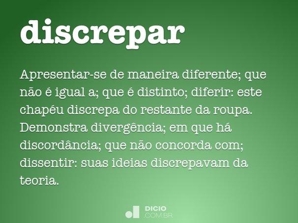discrepar