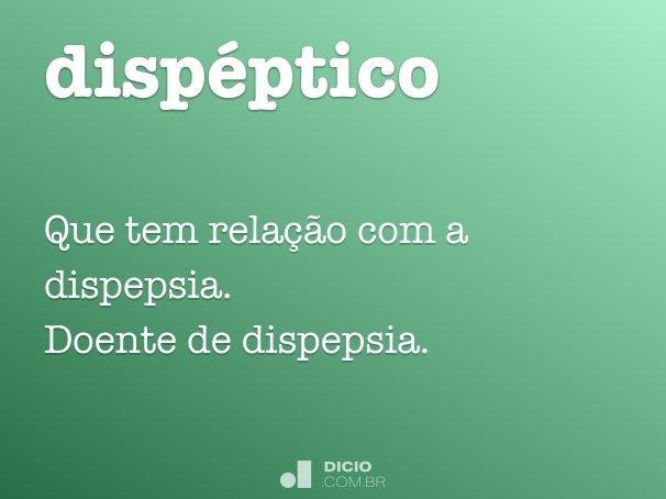 dispéptico