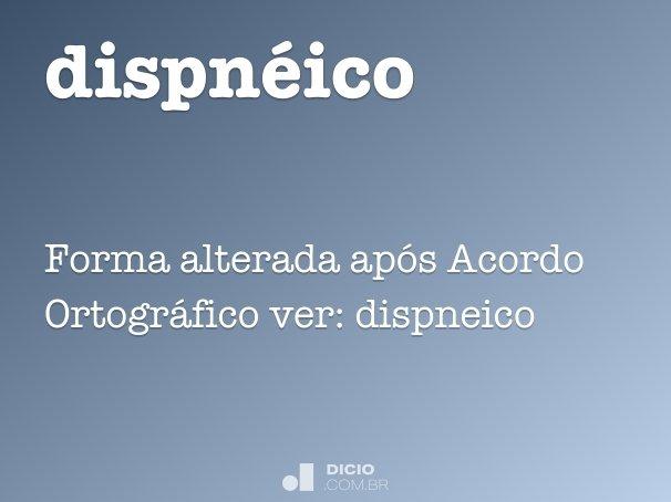 dispnéico