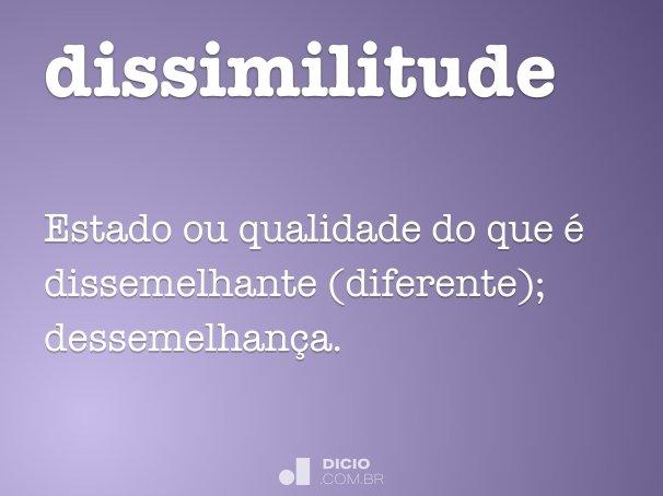 Dissimilitude