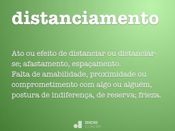 distanciamento
