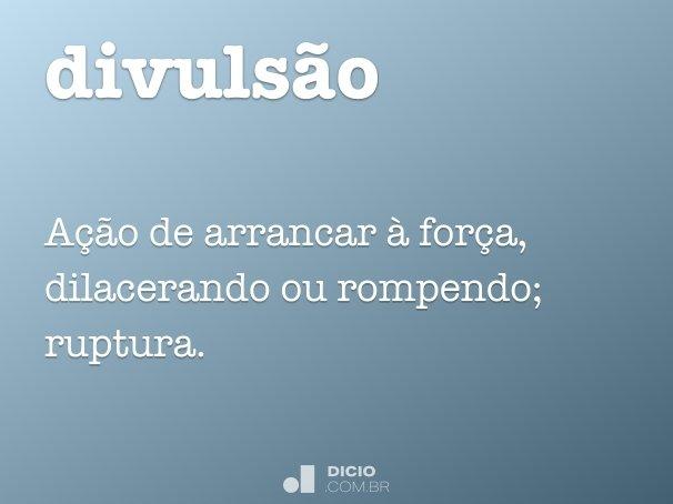 divuls�o