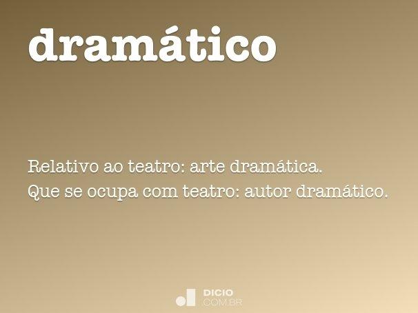 dram�tico