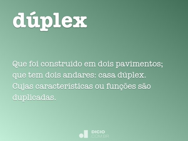 dúplex