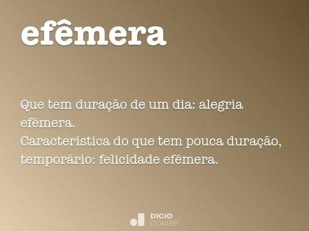 ef�mera