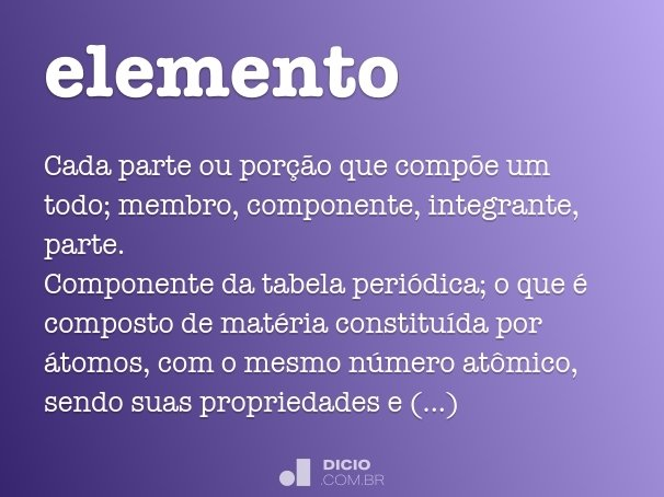elemento