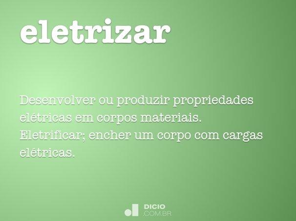 Eletrizar dicio dicion rio online de portugu s - Sinonimos de encantar ...