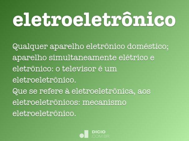 eletroeletr�nico