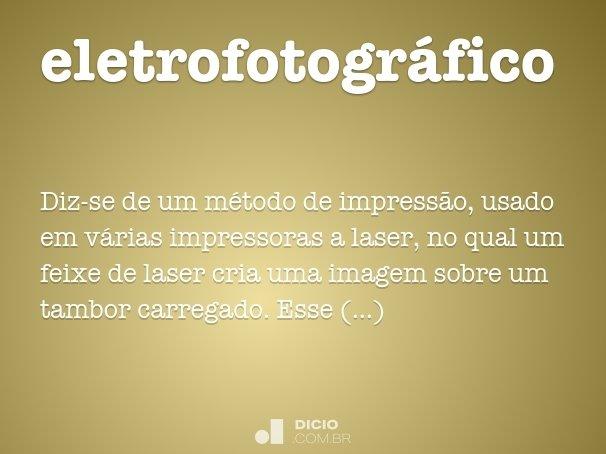 eletrofotogr�fico