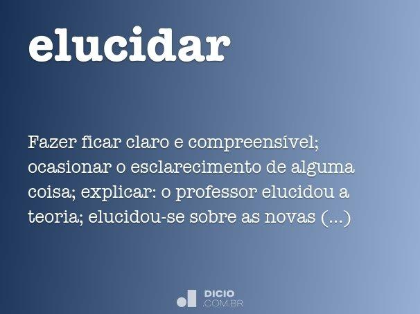 elucidar