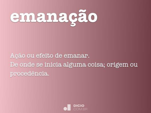 emana��o