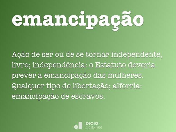 emancipa��o