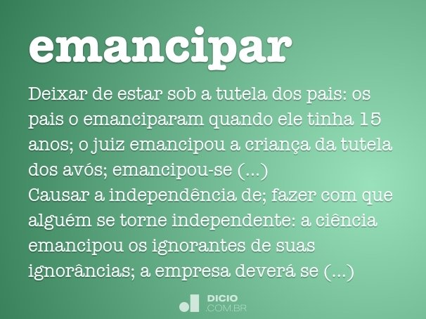 emancipar