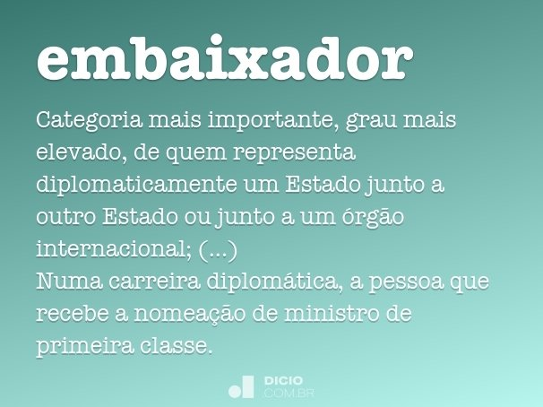 embaixador