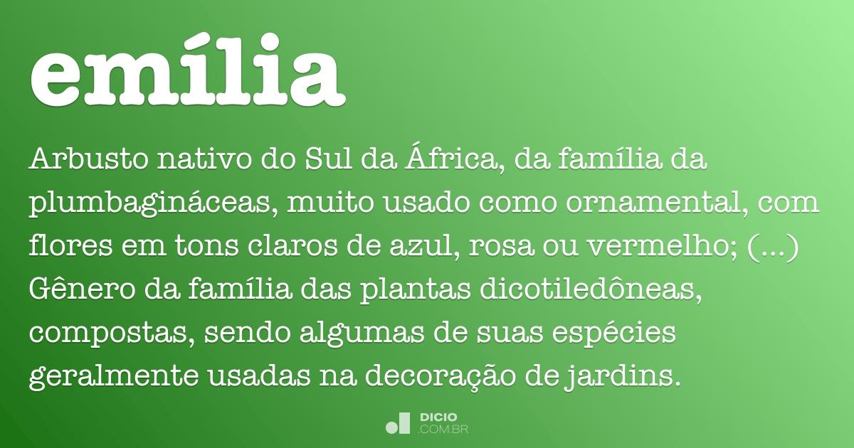 Em lia dicio dicion rio online de portugu s for Mobilia emilia