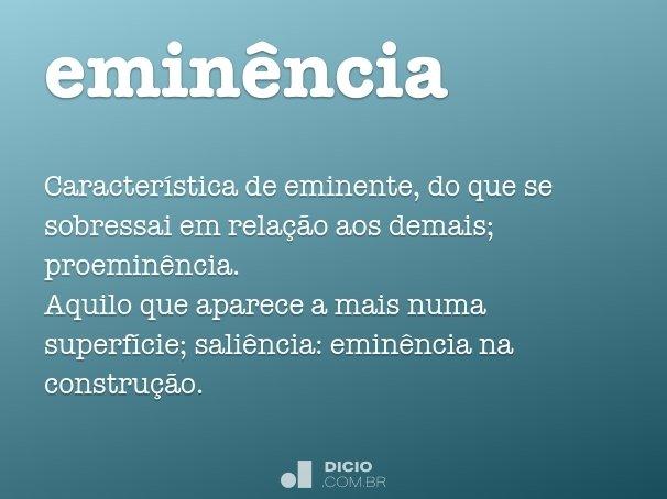 emin�ncia