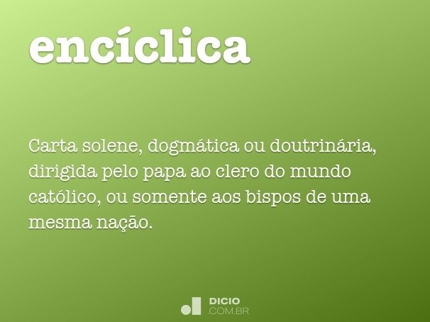enc�clica