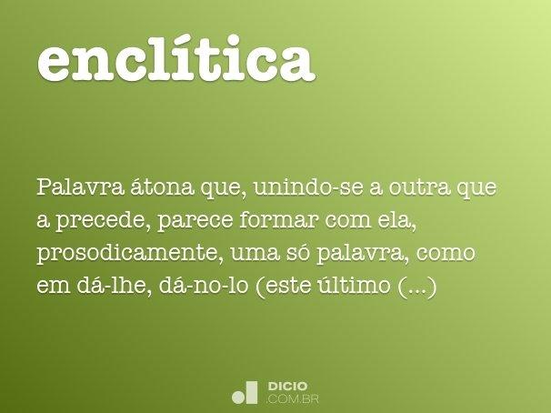 encl�tica