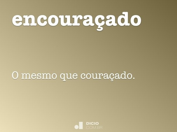 encoura�ado