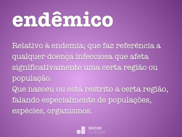 endêmico