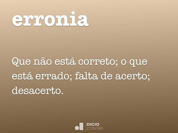 erronia