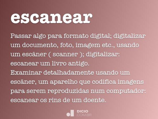 escanear