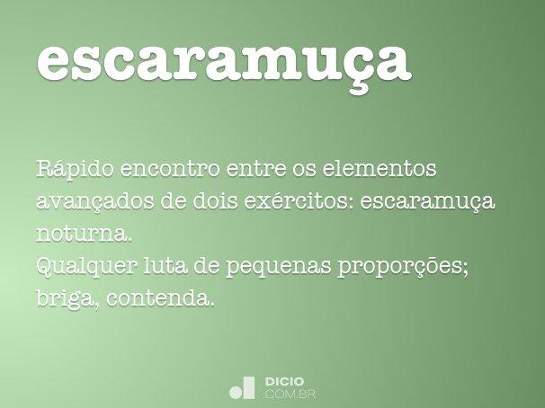 escaramu�a